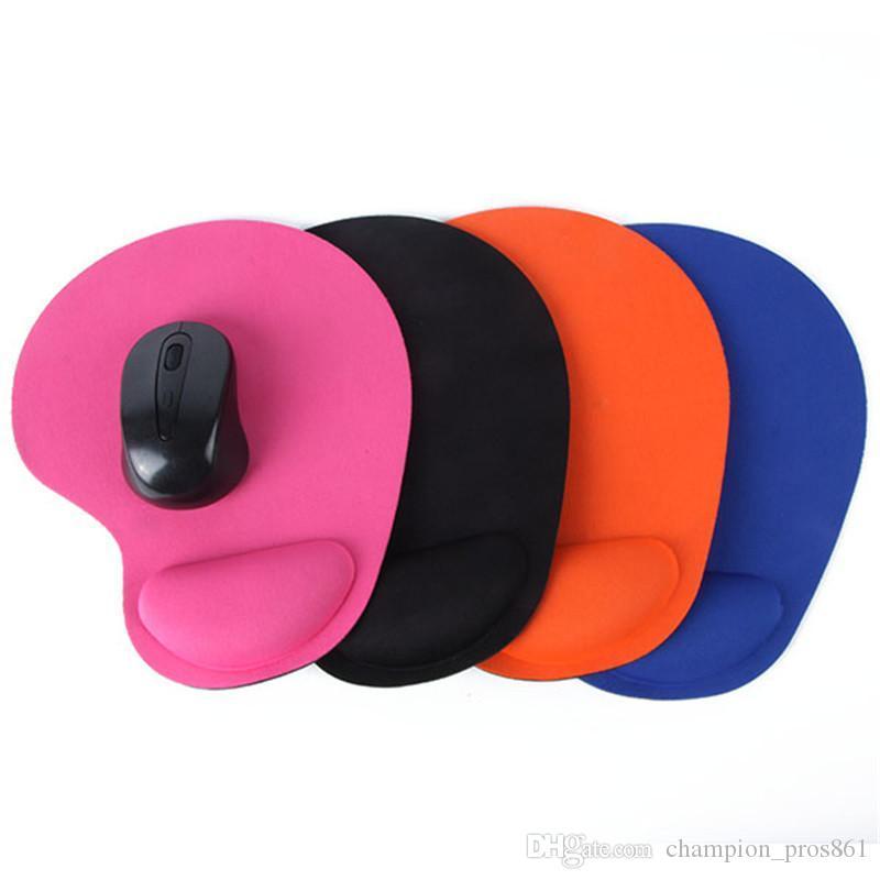 معصم حماية كرة التتبع البصرية سماكة ماوس الوسادة لينة الراحة الماوس لوحة حصيرة الفئران
