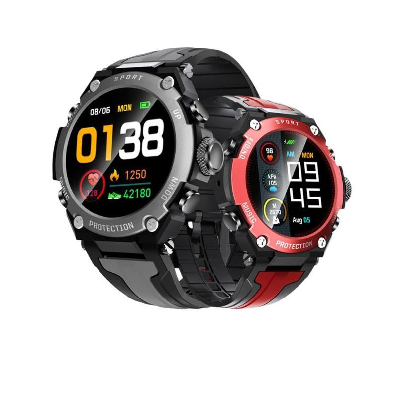 Smart Watches 2021 Musica Smartwatch Men IP68 Impermeabile Vigilanza sportiva Impermeabile, Bussola Air Pressure Measurement Altitudine DK10