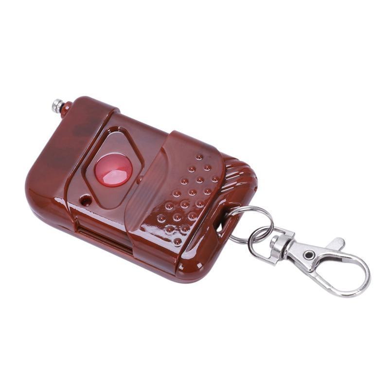 RF Émetteur acajou 1CH RF Télécommande sans fil, 315 / 433,92 MHz, PT2264 / Lampe / porte de garage