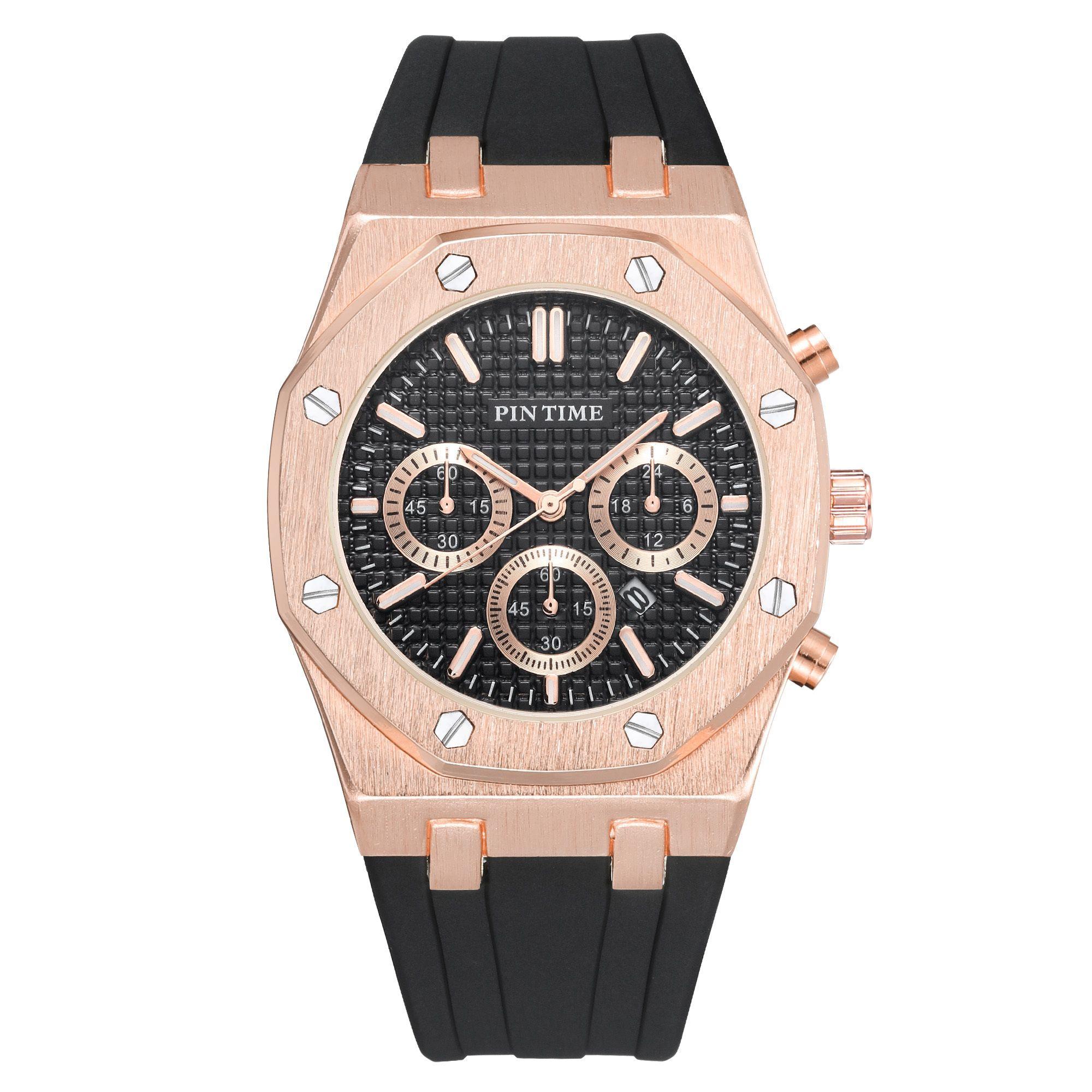 Pintime Силиконовые Мужские Часы Верх Лучший Бренд Роскошные Кварцевые Часы Календарь Военные Часы Мужчины Спорт Наручные Часы Relogio Masculino Relojes 210310