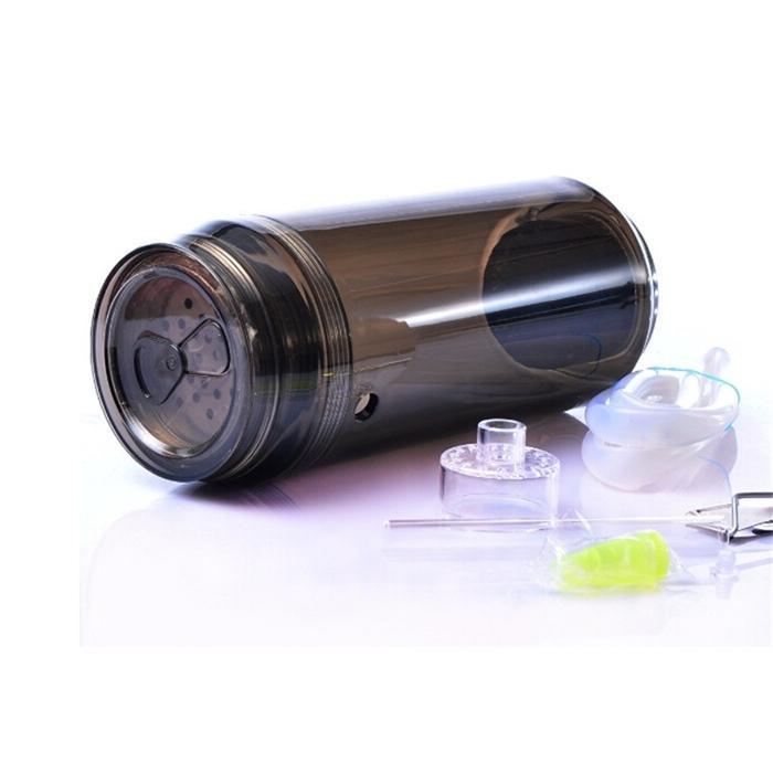LED aydınlatma nargile fincan seyahat plastik led nargile bardak araba sigara için set taşınabilir şişe sıcak satış