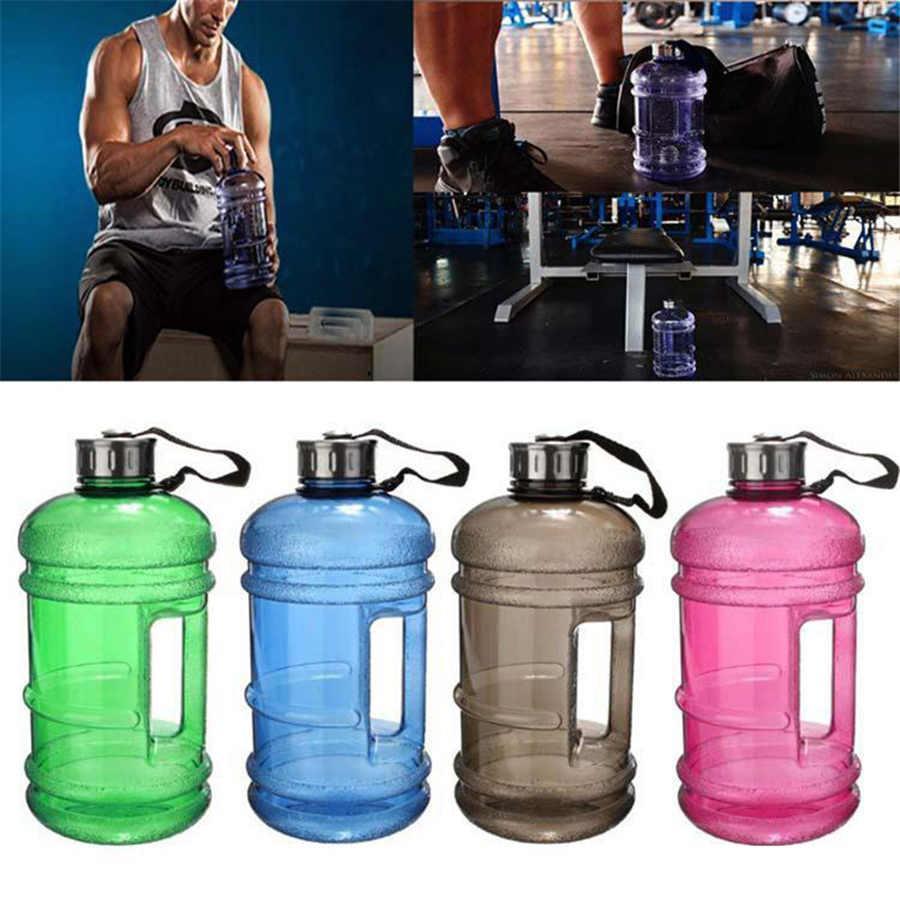 2.2L grande capacità acqua bottiglia di acqua sportiva palestra allenamento bottiglia d'acqua formazione fitness convocatore per campeggio