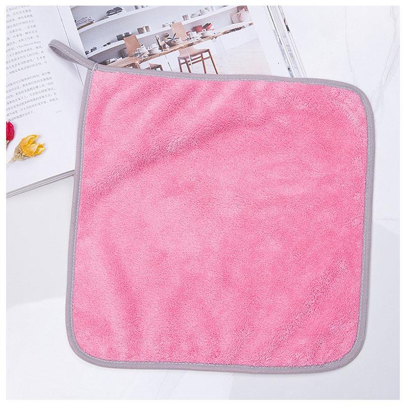 Baby Saliva Coral Veet Taschentuch Gesicht Waschen Fütterung Kleines quadratisches Tuch Kein Haar fallende Kinder Lätzchen Reis Tasche