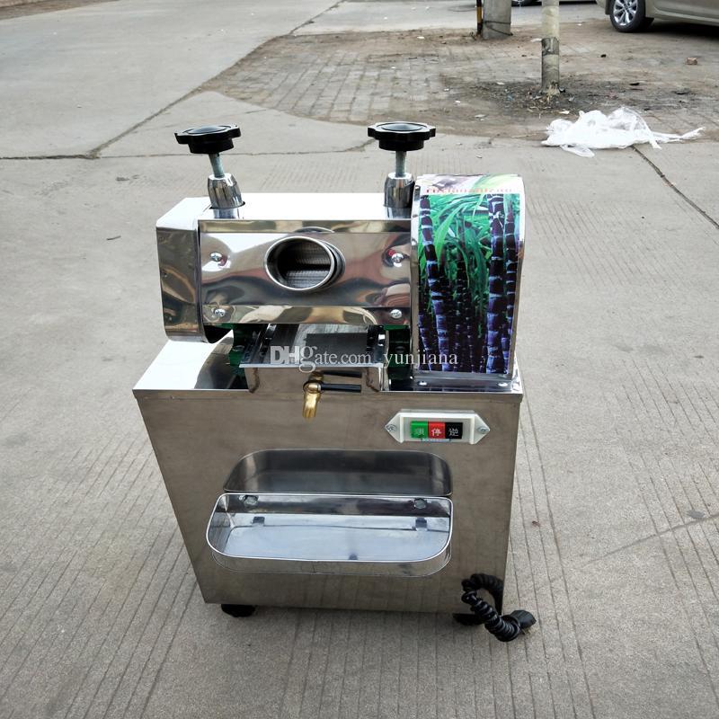 Extracteur de jus de canne à sucre en acier inoxydable neuf conserve son goût original fait gagner du temps et des efforts 750W
