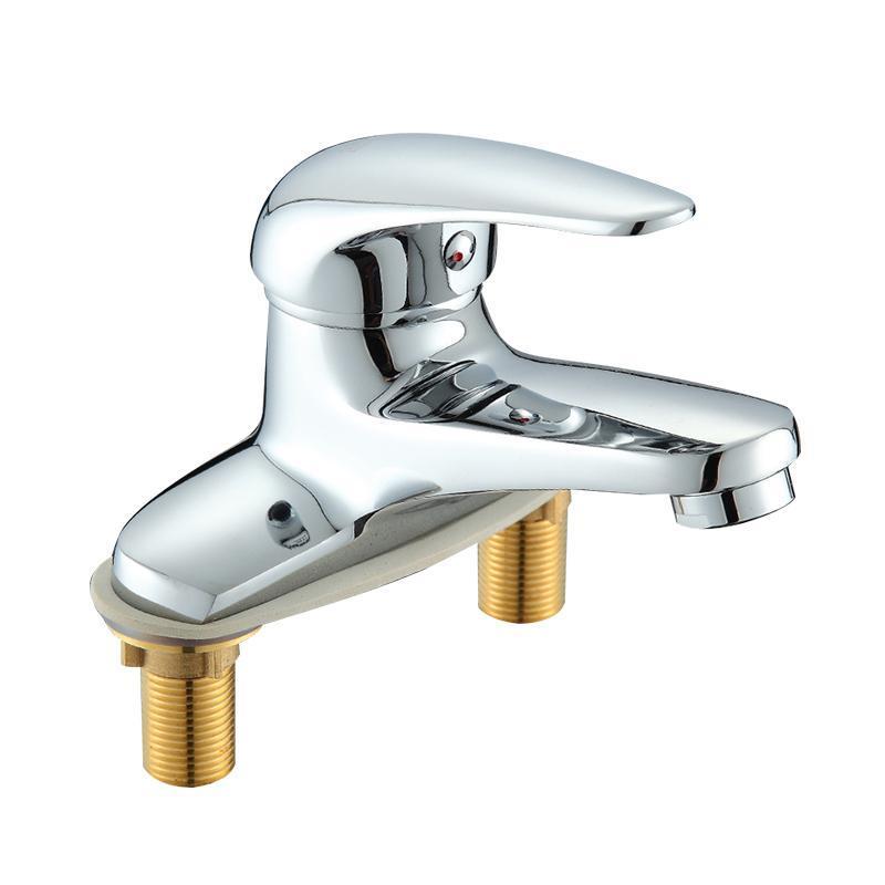 Drain Basin Faucet Deviater Adattatore Driveter Piccola vasca da bagno rubinetti Bagno Bagno Chrome Grifo Lavabo Home miglioramento EA6TPL