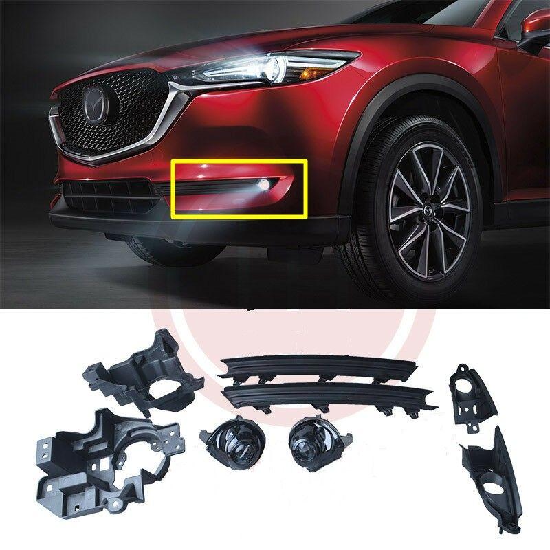 Carro OEM Estilo diretamente Substituição LED Lâmpada de nevoeiro para 20176-2019 para Mazda CX-5 w / lâmpada + interruptor + fio + bezel / 1set