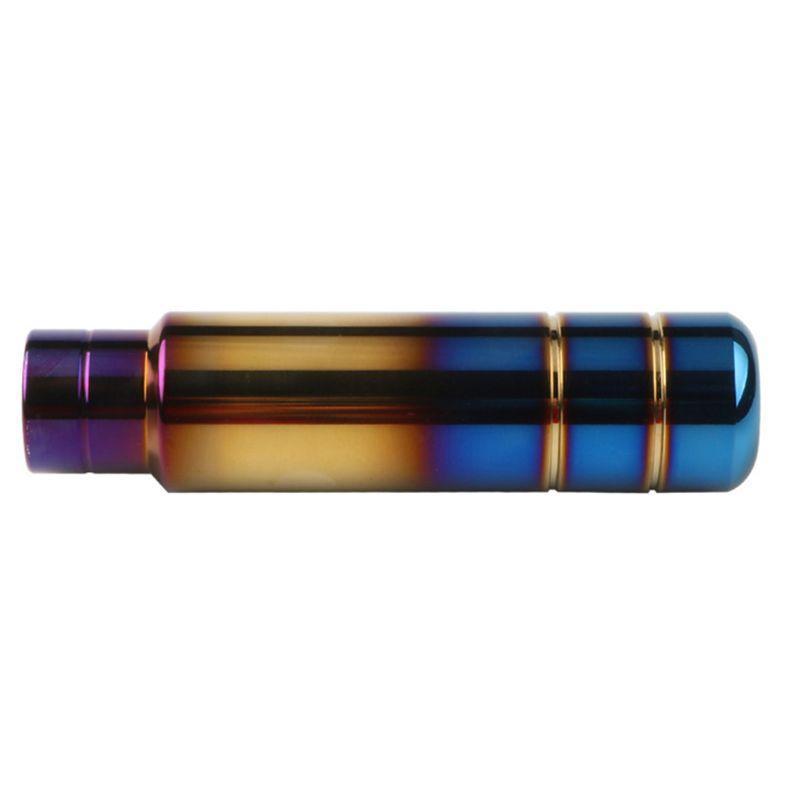 Carro Universal Do Botão De Desfoco Buralhando Azul De Alumínio de Alumínio 13cm Cabeça de Alavanca de Alavanca de Engrenagem G9FF