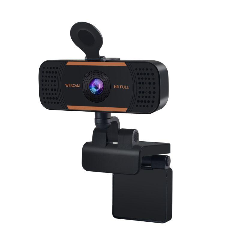 Full HD 1080P Веб-камера Мини веб-камера Обложка для ПК Компьютер Ноутбук Видео USB Autofocus с микрофоном