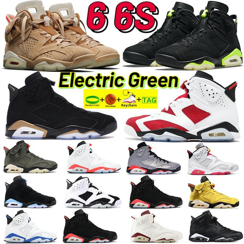 Men 6 6s Bsketball Shoes Hare DMP 2020 Travis Scotts Trainers промытые джинсовые UNC Carmine Oreo Black Infrared 2019 с бирком брелок
