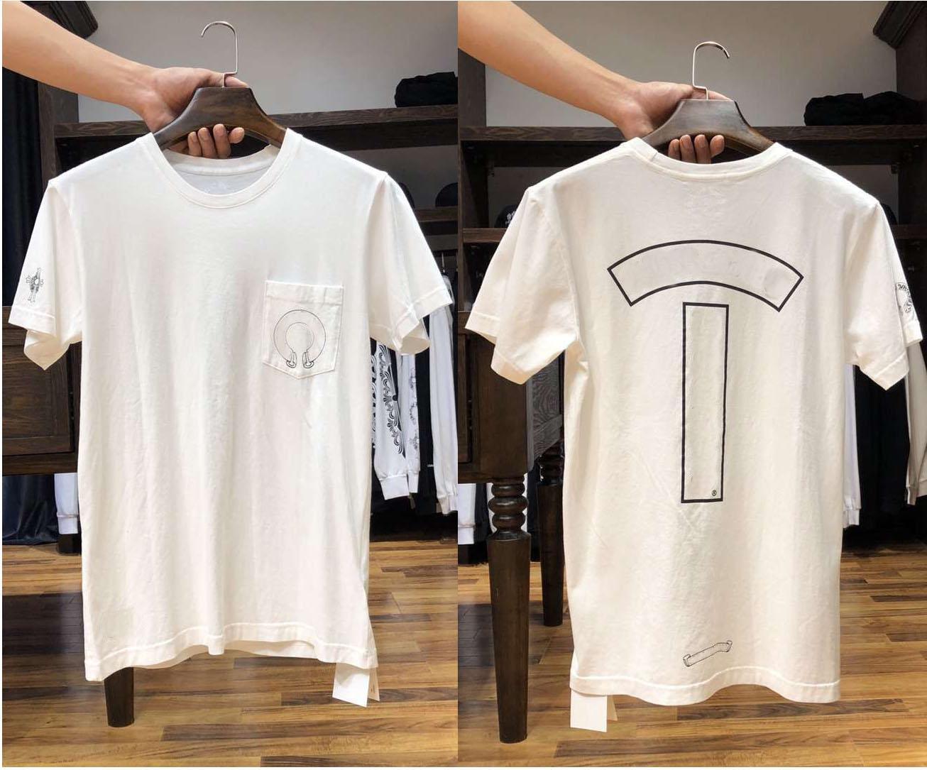 Klassische Kurzarm Casual T-shirt Hohe Qualität Sommer Brief Muster Gedruckt Baumwolle Herren Frau T-Shirts 16 Arten
