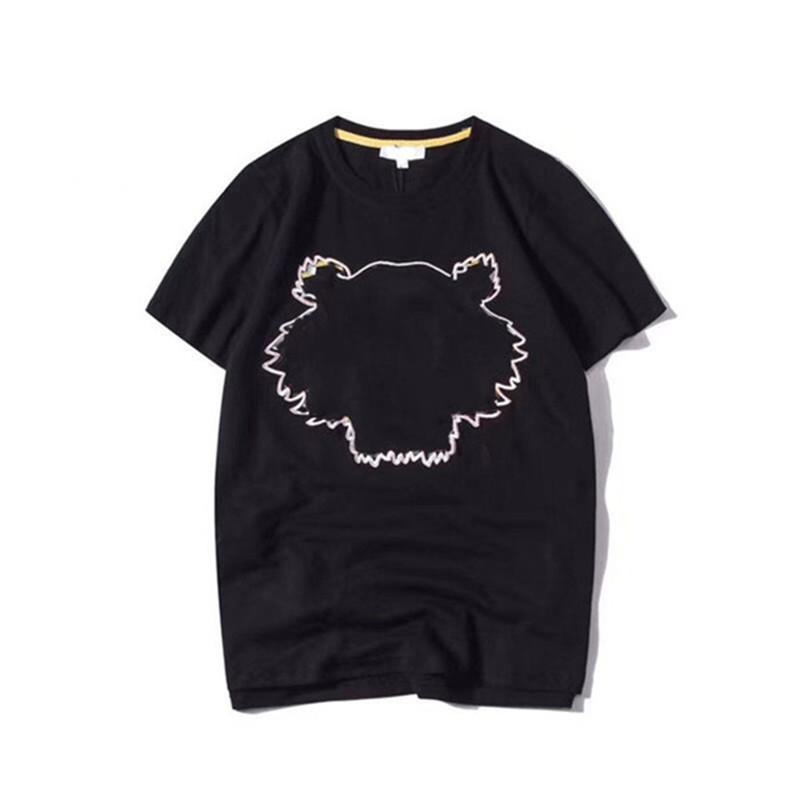 2021 Yüksek Kalite T Gömlek Pamuk Kısa Kollu Moda Erkekler Ve Kadınlar Kısa T-Shirt Çift Modelleri En Kısa Kollu Tasarımcı Giysileri
