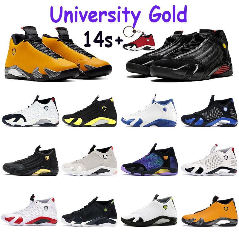 2021 جديد أحذية كرة السلة 14 14 ثانية رياضة رياضة حمراء حلوى قصب نحلة جامعة الذهب supwhite supblack الرعد عالية رجل المدربين