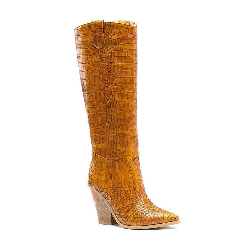 Botas zapatos de mujer zapatos pasarela moda