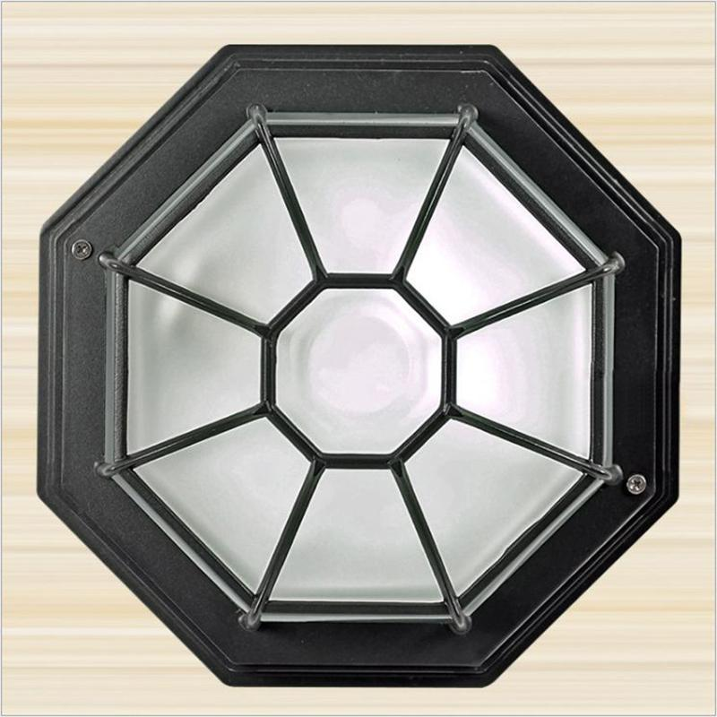 Ceiling Lights WOERFU Waterproof Moisture-proof American E27 Corridor Aisle Porch Light