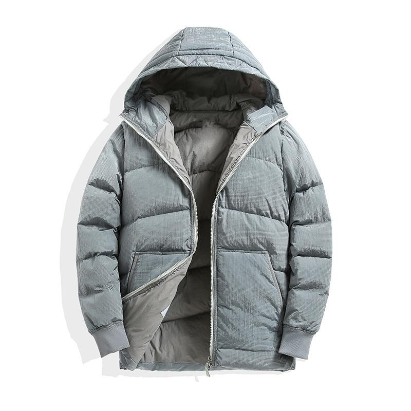 CPtopstoney new style black puffer jacket Winter new mens down jacket fashion brand high quality Winter white goose down heated jacket mens