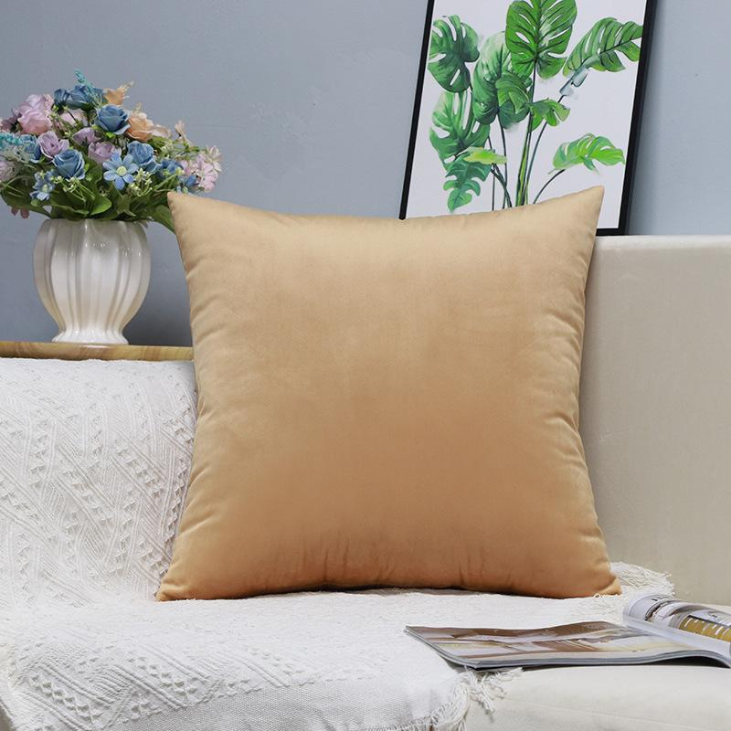 X242 Küçük Taze Kucaklama Yastık Dikey Şerit Süet Yastık Örtüsü Ev Eşyaları Hug Yastık Kalıcı Katı Renk Yastık ASDF Kapakları