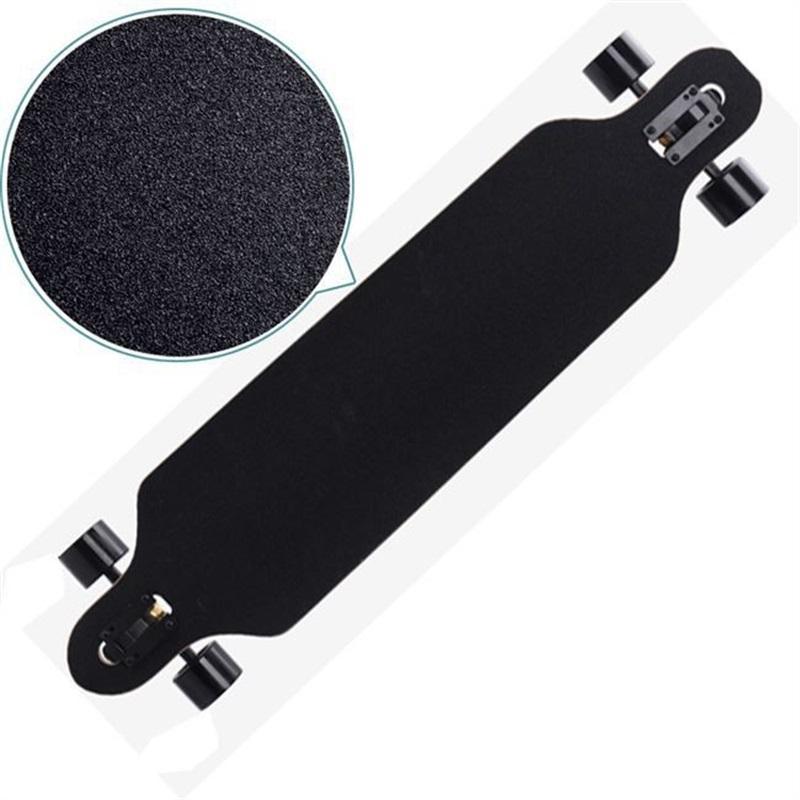 스케이팅 보드에 대 한 긴 보드 샌드 페이퍼 전문 블랙 스케이트 보드 갑판 샌드 페이퍼 longboarding emery 도로 39 x2