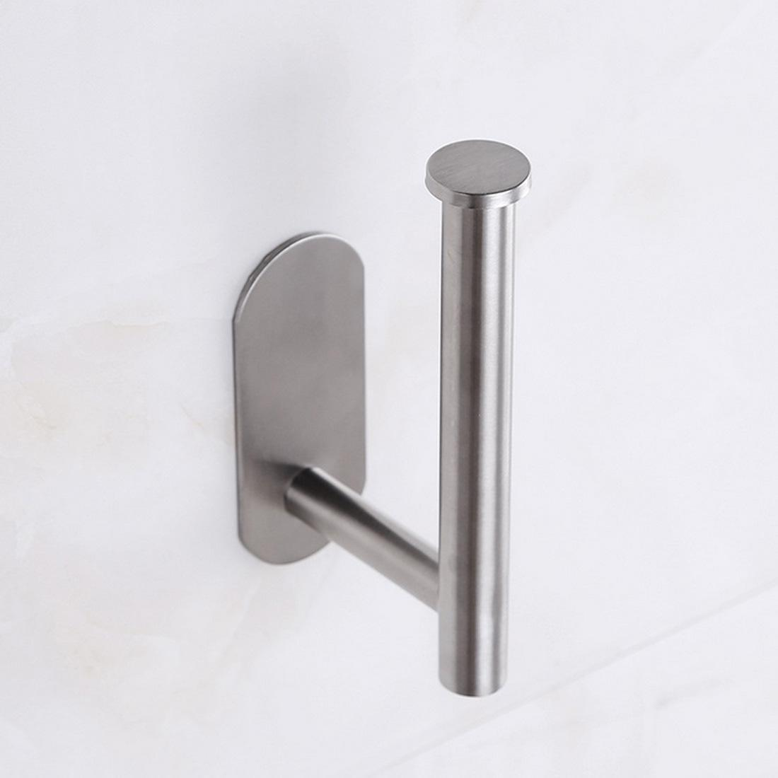 Suporte de papel higiênico auto-adesivo Toaletes de banheiro Toalheiros Suportes sem perfuração de aço inoxidável de aço