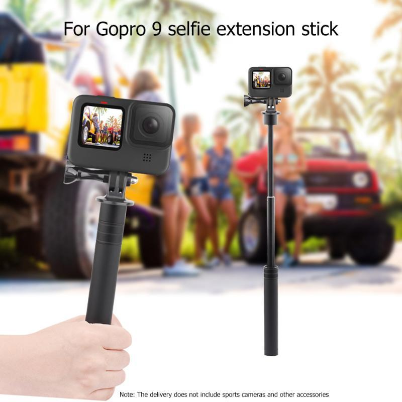 Selfie Stick Phone Tripod Extendable Monopod with Bluetooth Remote for OSMO Action Hero9 Extendable Holder Monopod