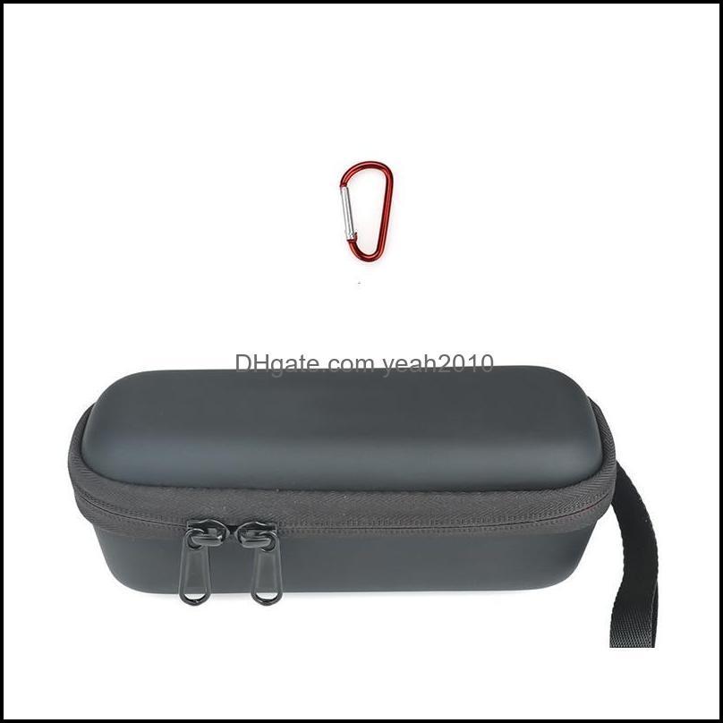 Cabos, escalando cam caminhadas esportes Outdoorscords, slings e caixa de armazenamento da caixa de armazenamento bolsa à prova d'água com mosquetão para Fimi Palm 2 Gimb