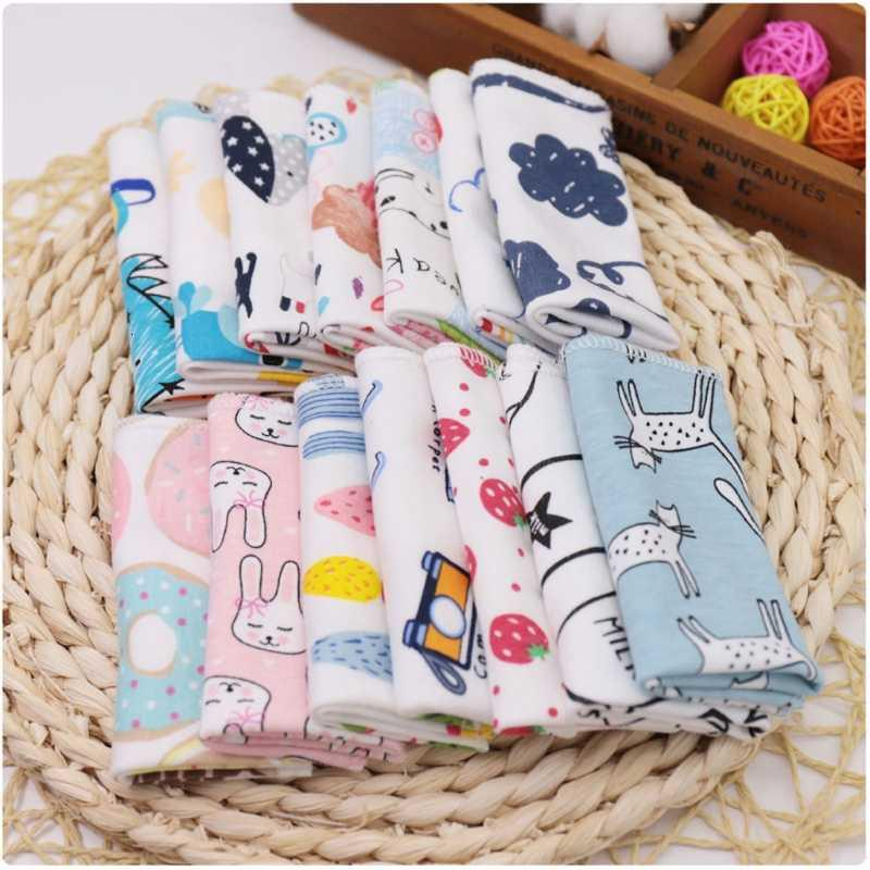 5 pcs katoen recém-nascido toalhas de banho esponja toalha de bebê pão lenço p31b