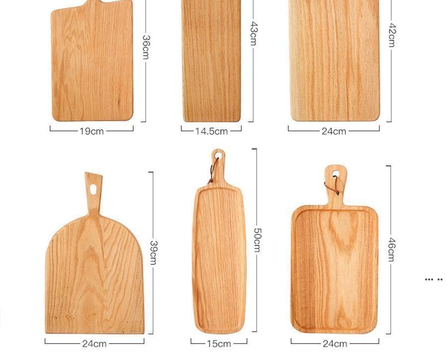 Kare Mutfak Doğrama Bloku Ahşap Ev Kesme Tahtası Kek Suşi Plaka Servis Tepsileri Ekmek Çanak Meyve Tabağı Suşi Tepsi Biftek Tepsi DHB5655