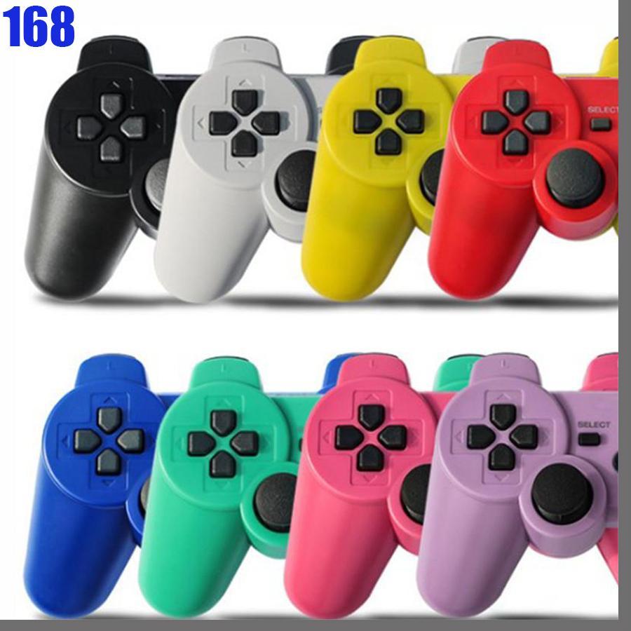 PS3 Controller 용 168D 무선 블루투스 조이스틱 조이스틱 Gamepad PS3 컨트롤러 게임 소매 상자가있는 게임