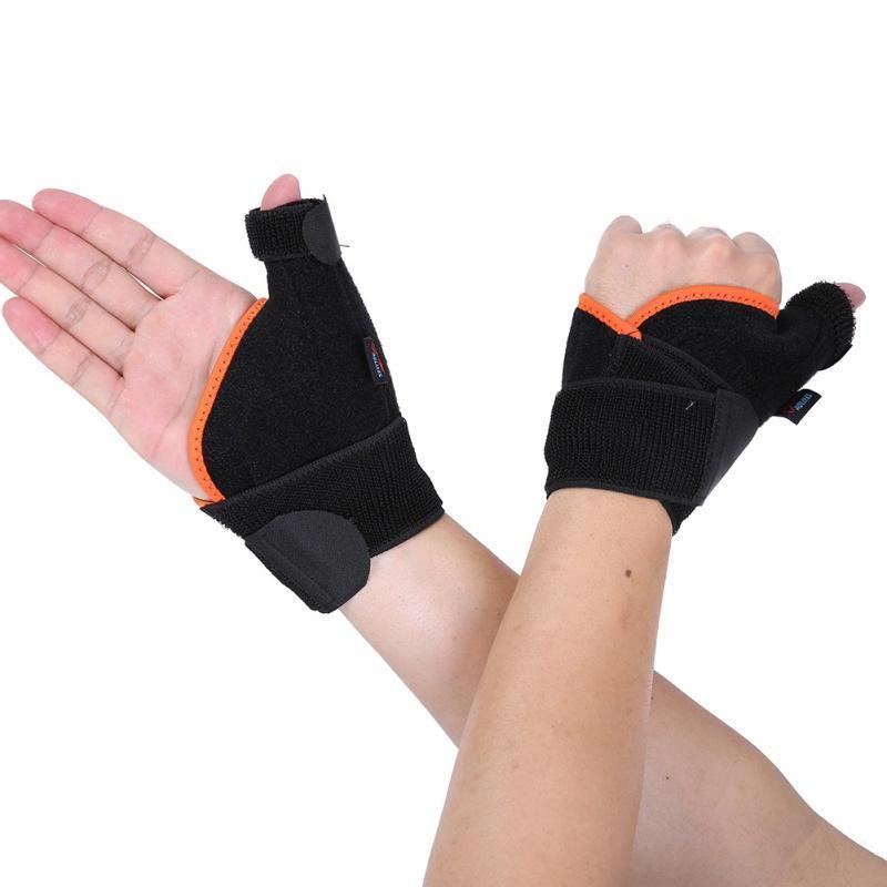 1 UNIDS Muñeca Thumb Mano Soporte de mano Protector Férula de acero Estabilizadora Artritis Carpica Túnel Muñeca Dedo Bracen Guard Unisex