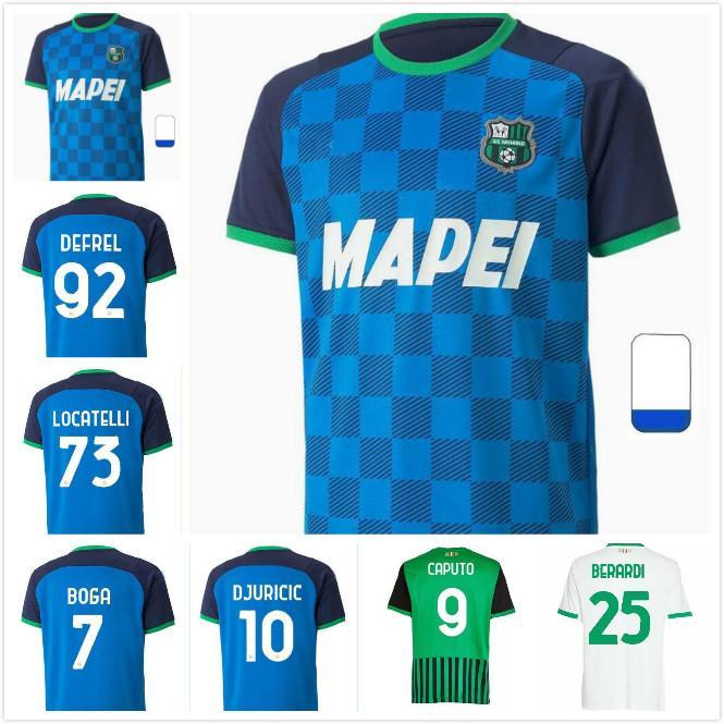 20 21 22 22 Sassuolo Calcio Soccer Technys 2021 2022 Главная Лирола Принц Матри Серникола Отель Футбольная рубашка Униформа