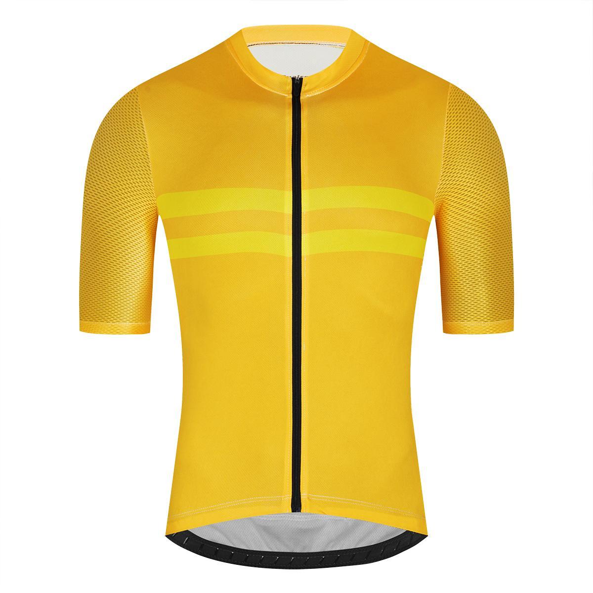 Fualrny Pro Bisiklet Jersey Erkekler Aero Bisiklet Forması Hafif MTB Dikişsiz Proses Bisiklet Bisiklet Giyim Gömlek Maillot Ciclismo