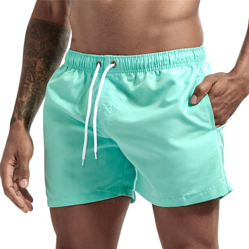 19 colors with pocket Summer Running Shorts Men Sports Jogging Fitness Shorts Mens Gym Men gyms Short Pants 2021