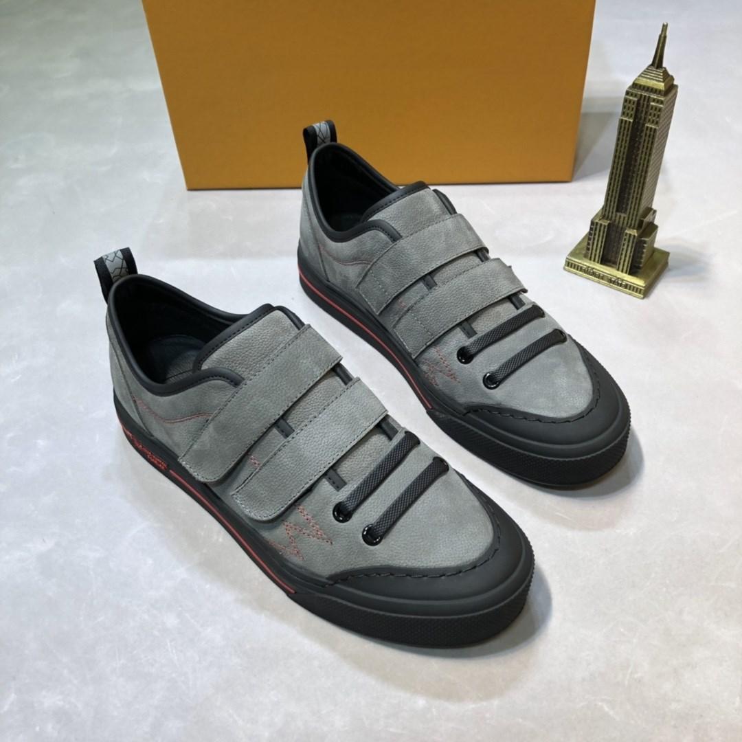 مريحة تنفس الرجال عارضة أحذية جلد البقر خياطة + جلد الغنم داخل مصمم بسيط تصميم ارتداء أحذية جلدية مقاومة للاهتراء