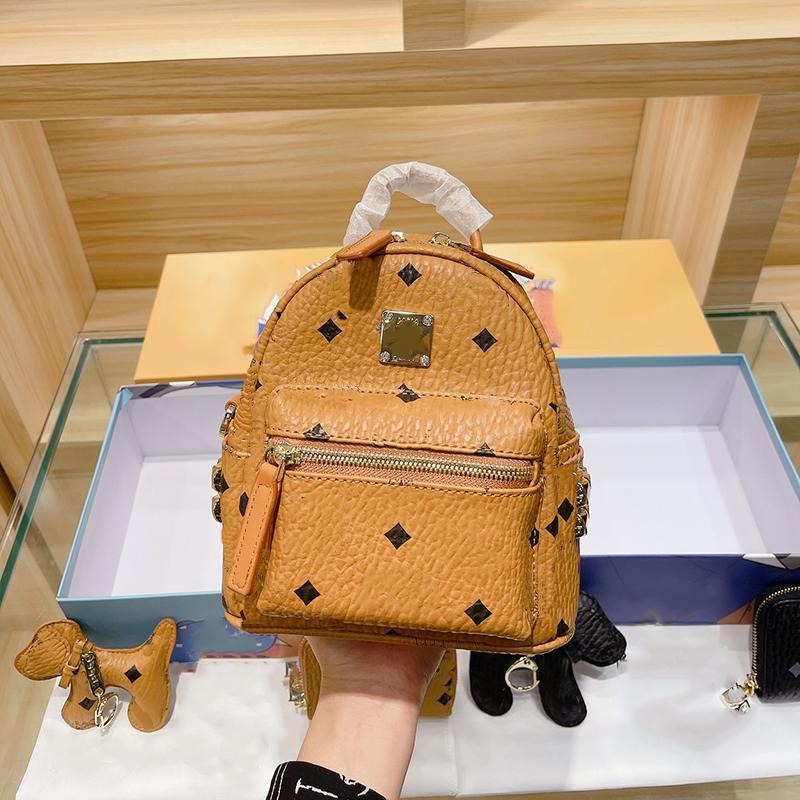 2021 Mini Frauen Rucksack Mode Rucksäcke Schultasche Schöner Stil