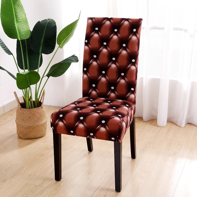 يغطي كرسي غطاء مرن مناسب لجدول عشاء مأدبة الزفاف والكراسي غرفة الطعام