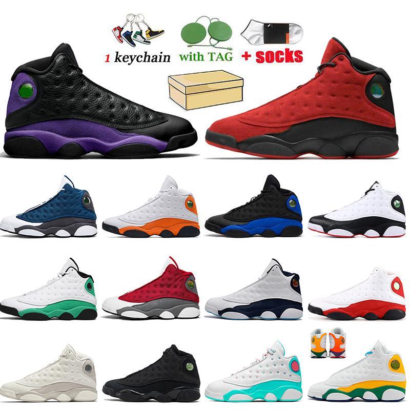 Nike Air Jordan 13 Jordan Retro 13 13s أعلى جودة أعلى جودة الرجعية رجل إمرأة jumpman 13 الساتانالأردن نجم هايبر الملكي 13 حصل على لعبة رجل المدربين أحذية رياضية شيكاغو