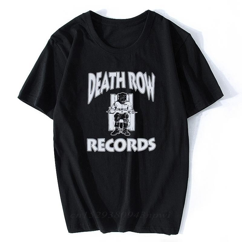 Ölüm Sıra Kayıtları TUPAC 2PAC DRE erkek R.I.P T-shirt Siyah Kısa Kollu T Gömlek Baskılı Pamuk Üst Müzik Tee Rap Gömlek C0310