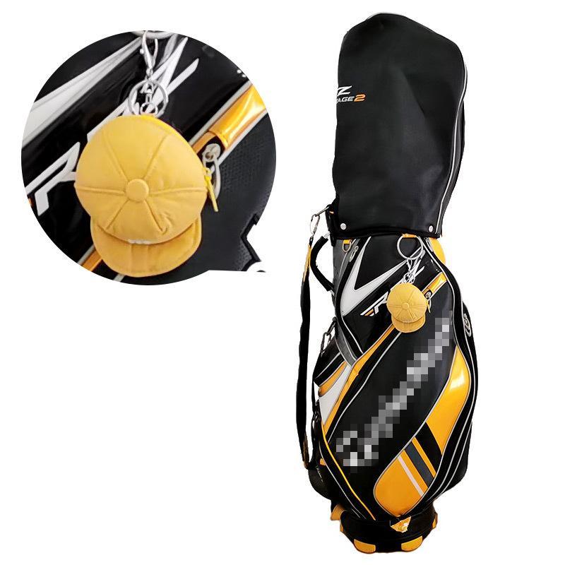 Zíper Pequeno Saco De Bola De Golfe Mini Cap Forma Bolsas De Golfe Adorável Pequeno Bolso Sporting Bens 5 Cores L0302