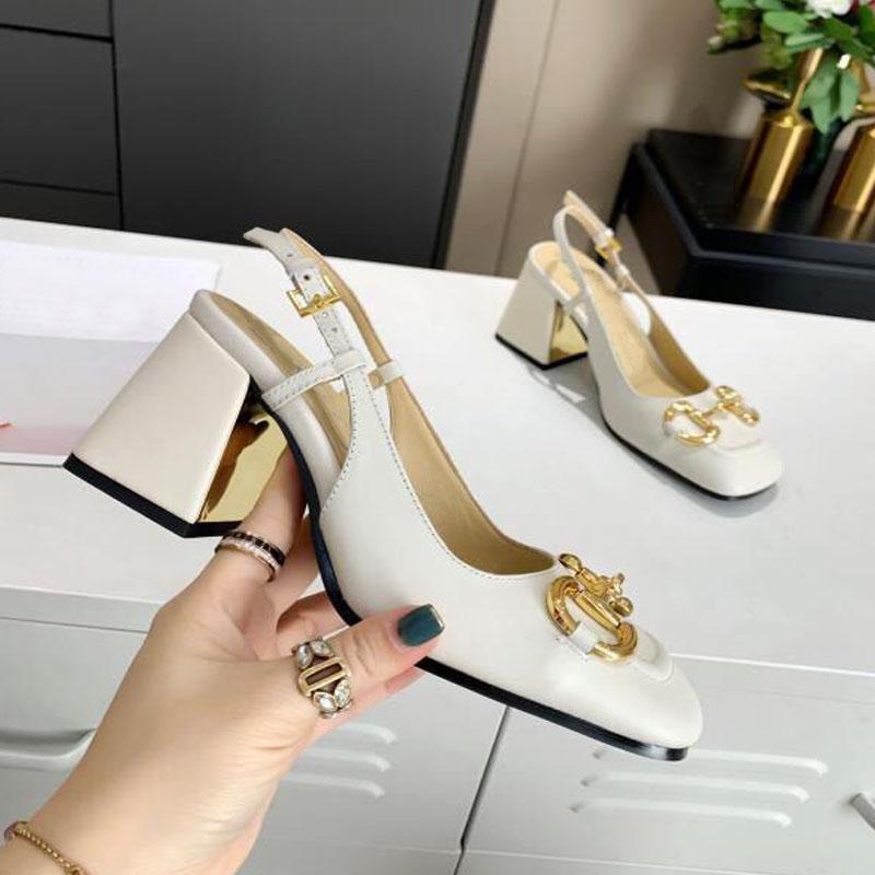 Moda Salto Alto Bela Designer Sandálias Mulheres Verão Sapatos Mulheres Impermeável Plataforma Espessura Salto Grosso Elegante Dridesmaid Dress w