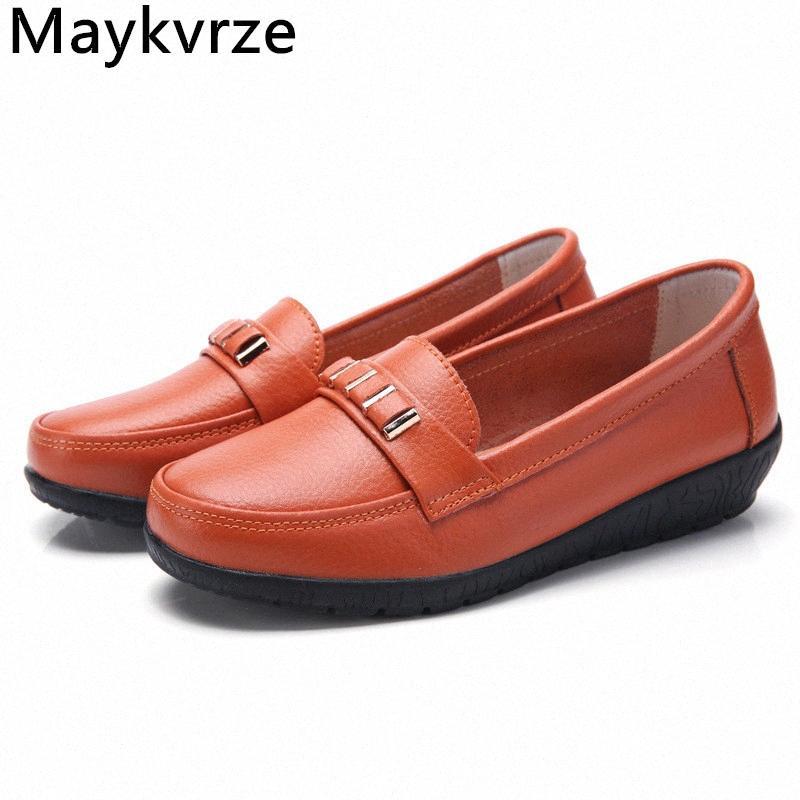 Женская обувь Кожаные Квартиры Женщины Повседневная Обувь WS22 A1OS #