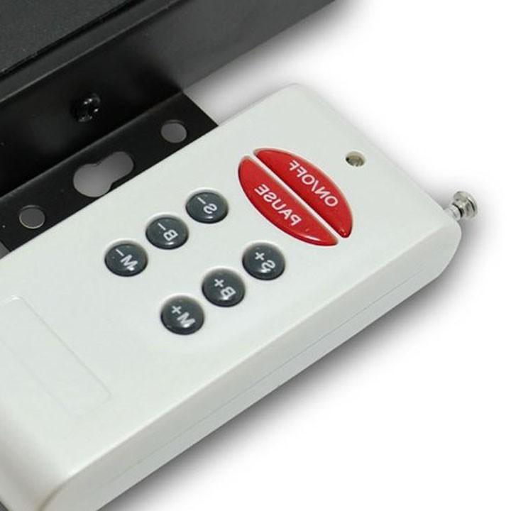 50 unids inalámbrico DC 12V / 24V RGB RF Controlador de LED 8 llaves, 360W 720W, para RGB 3528 LED de tiras LED