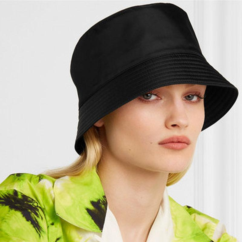 2021 New Unisex Pattern Bucket Hat Beach Sun Hat Street Headwear Fisherman Outdoor Cap Men and Woman Hat Solid Outdoors Travel