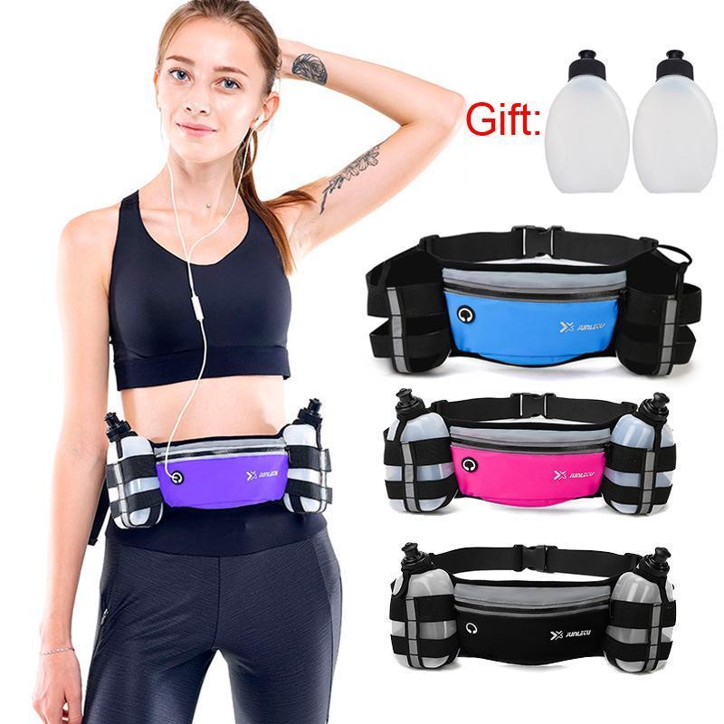 Herren Taille Laufgürtel Laufer Packung Für Frauen Pouch Trail Gym Fitness mit Wasserflasche Tasche Mobile Handy Sport Accessorie