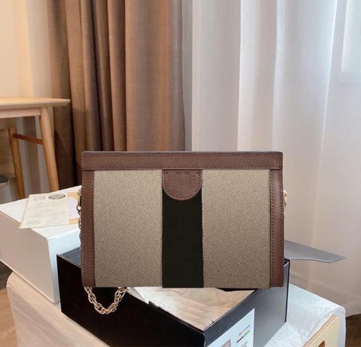 أوبهيديا مصمم فاخر حقائب نسائية الأزياء حقيبة الكتف القوس سلسلة الرجعية فليب الفن الخيوط رسول bagg