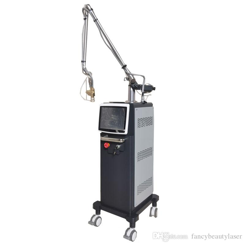 10600nm Fractional co2 laser skin resurfacing machine for age spots, fine lines, acne scars stretch marks removal