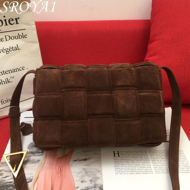 2021 Fashion Luxury Quality Classan Postman Bag Velvet Borsa da donna Retro Borse a tracolla Borse a tracolla Cross Totes