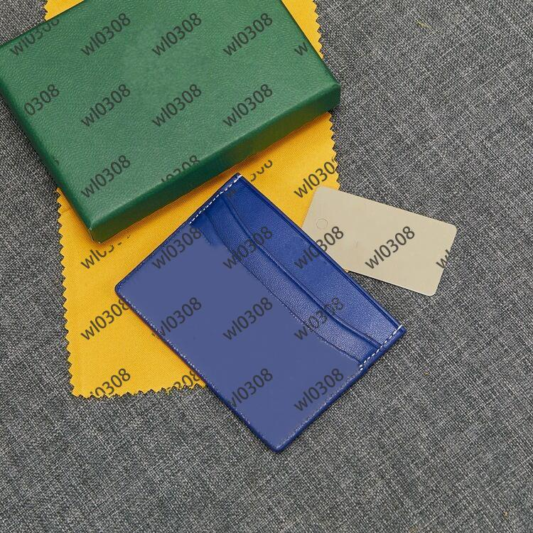 2020 أعلى جودة عالية الرجال النساء حامل بطاقة الائتمان باريس جي نمط مصمم الكلاسيكية مصغرة بنك رجل بطاقة هولدي مصمم المرأة محفظة مع صندوق