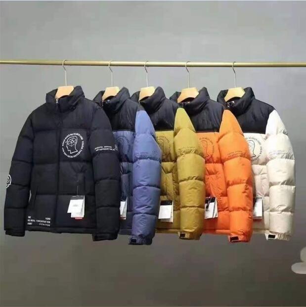 Femmes Hommes Down Parkas Winter Vêtements d'extérieur Veste décontractée Champuelle chaude Chaussette Unisexe Outwear Hip Hop Men Streetwear Taille S-2XL
