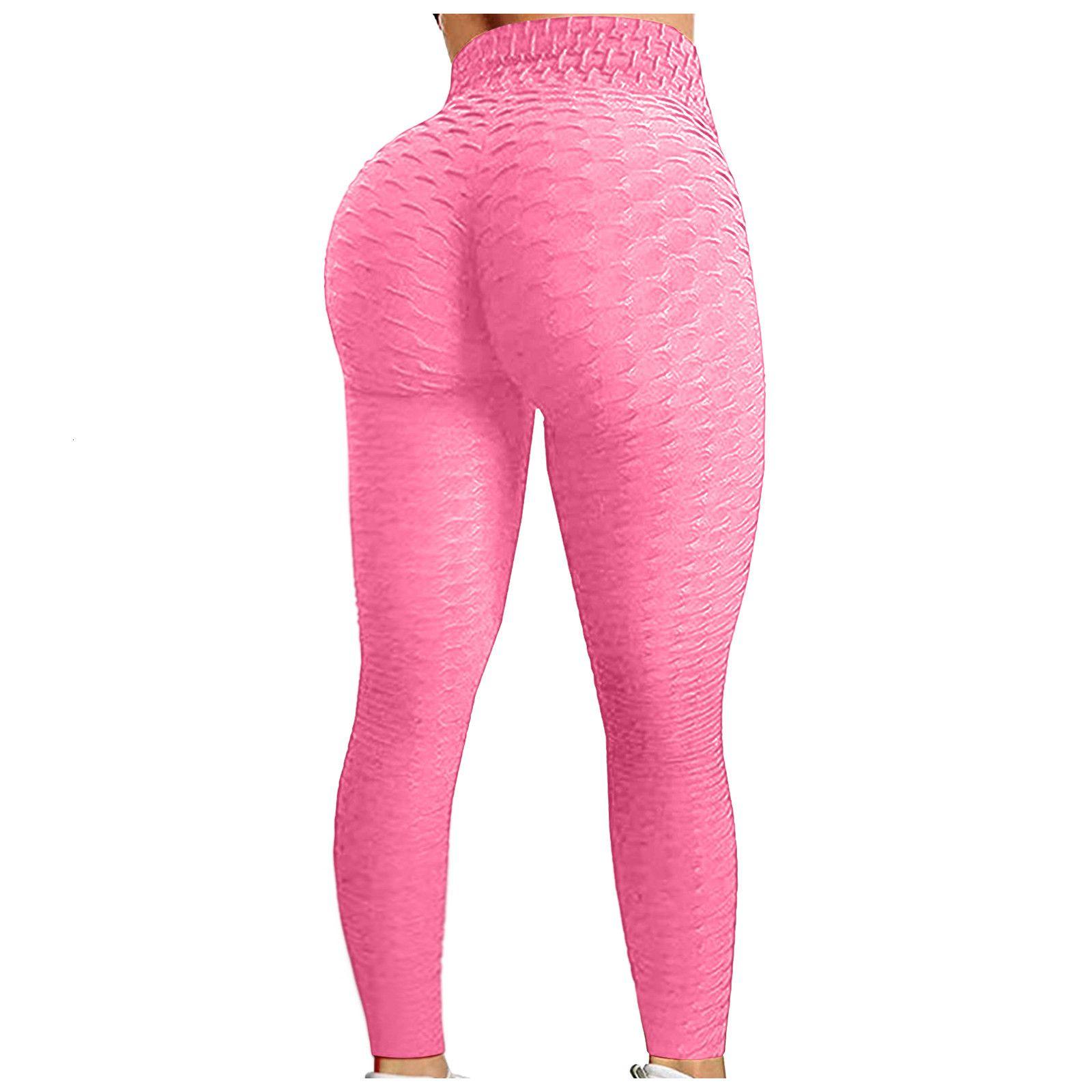 High Taille Mulheres Bubble Hip Lifting Exercício Fitness Running Jeggings Ginásio Feminino Desporto Desporto Leggings Broekhot Venda