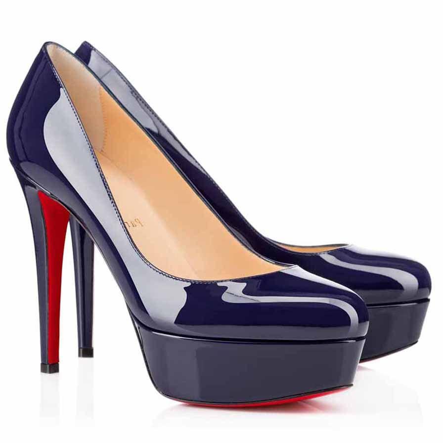 Свадебные каблуки Party платье насос красный нижний высокий каблук красные подошвы Bianca патентная кожаная платформа насосы 120 мм черный nuede с коробками свободный shippin
