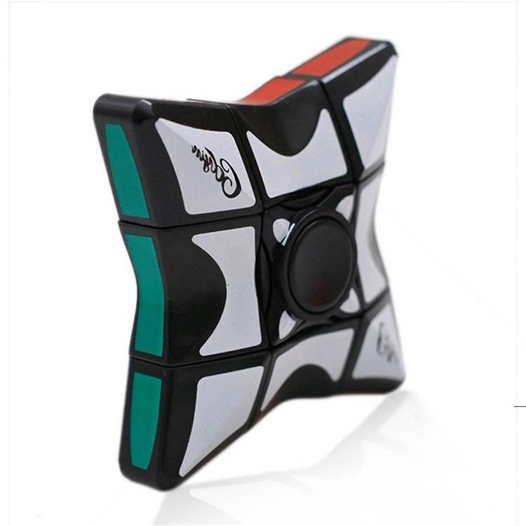 Rubik's Cube أعلى من الدرجة الأولى الجديدة 6 * 6 Fingertip Rubik's Cube أعلى، الغزل الأعلى، أطفال الضغط، لغز لعبة سلسلة owf56